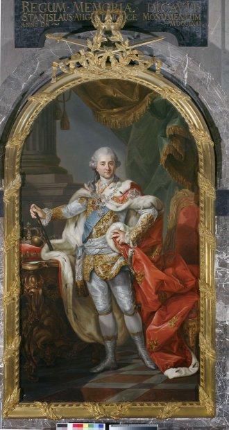 z10704601Q,Wielki--reprezentacyjny-portret-krola-Stanislawa-Augusta