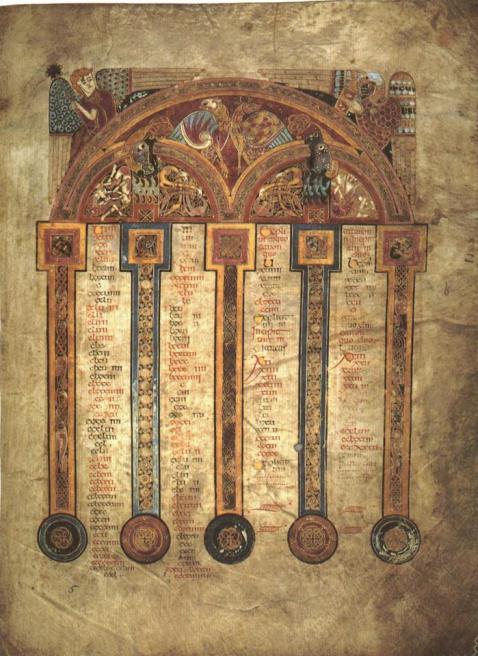6. Z jakiego manuskryptu pochodzi ta iluminacja i co przedstawia?