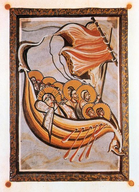 8. Z jakiego manuskryptu pochodzi ilustracja i jaki motyw przedstawia?