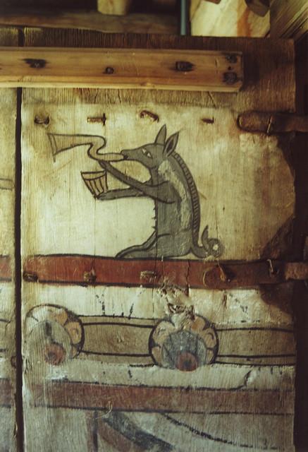 4. Z jakiego obiektu pochodzi ta polichromia?