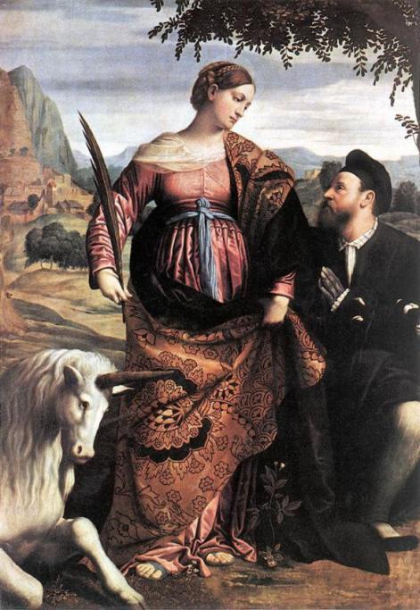 2. Kto jest autorem obrazu i kogo przedstawia postać kobieca?